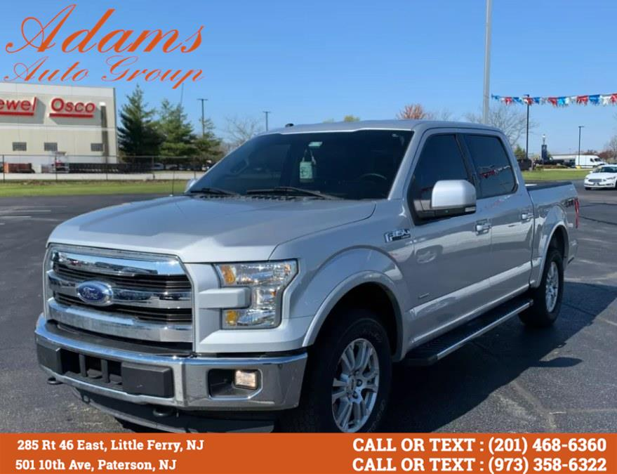 """Used Ford F-150 4WD SuperCrew 145"""" Lariat 2016 