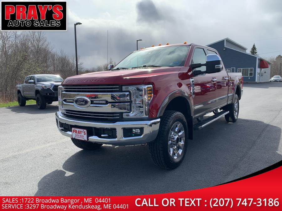 Used 2018 Ford Super Duty F-250 SRW in Bangor , Maine | Pray's Auto Sales . Bangor , Maine