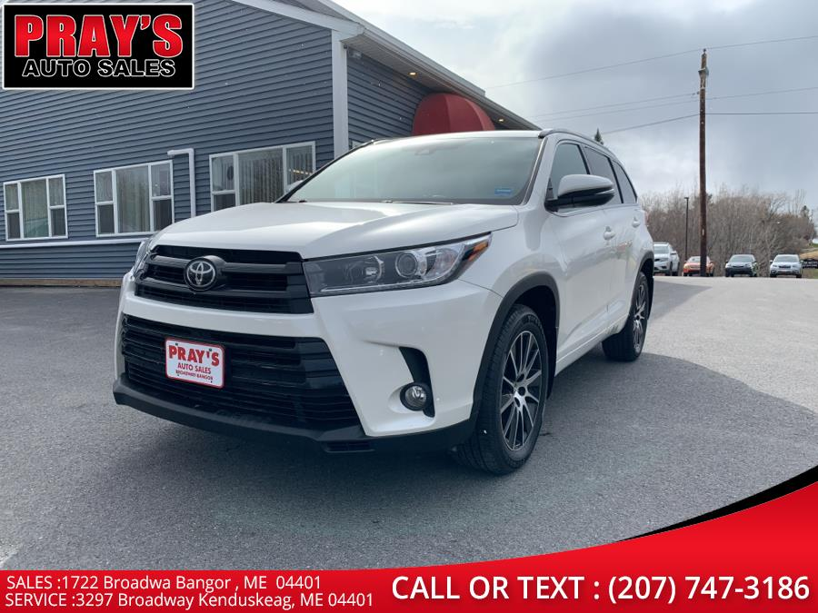 Used 2018 Toyota Highlander in Bangor , Maine | Pray's Auto Sales . Bangor , Maine