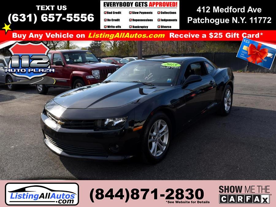 Used Chevrolet Camaro 2dr Cpe LT w/1LT 2015 | www.ListingAllAutos.com. Patchogue, New York