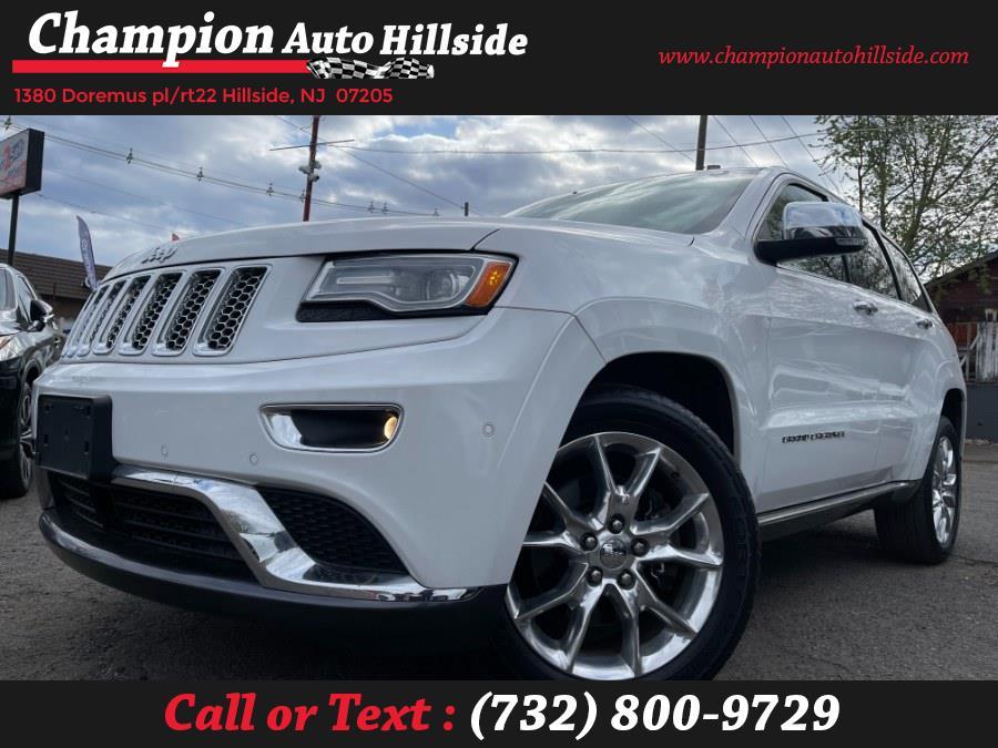 Used 2014 Jeep Grand Cherokee in Hillside, New Jersey | Champion Auto Hillside. Hillside, New Jersey