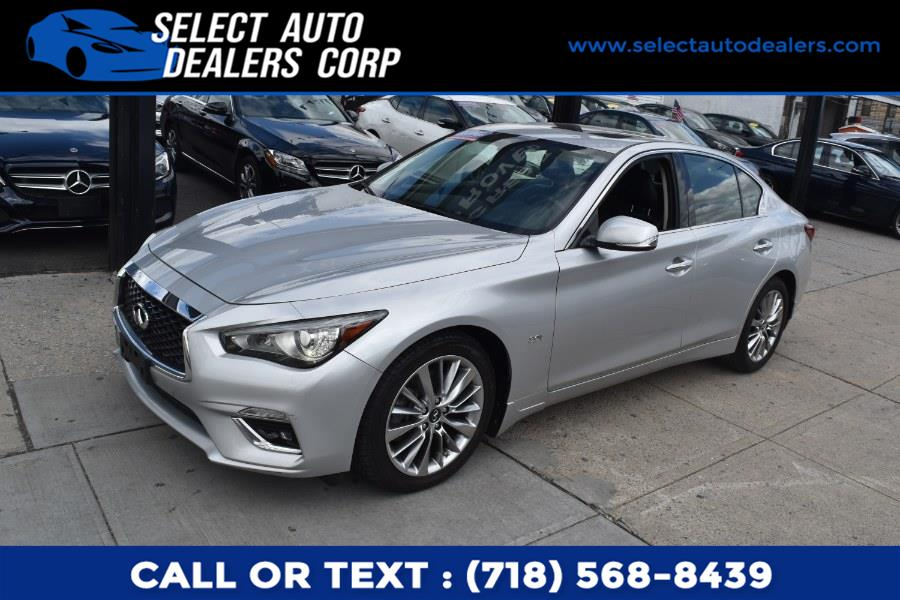 Used INFINITI Q50 3.0t LUXE AWD 2018 | Select Auto Dealers Corp. Brooklyn, New York