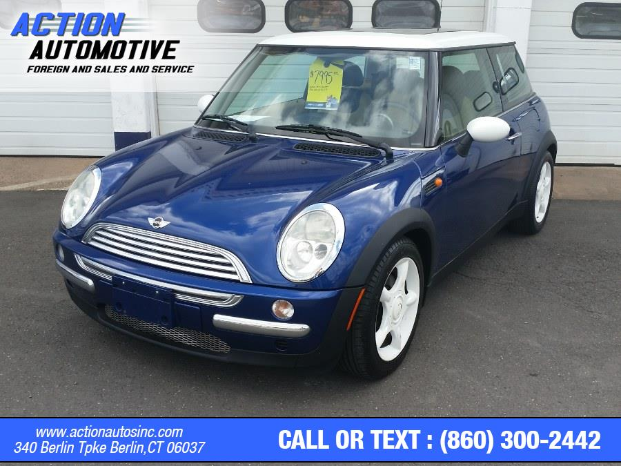 Used MINI Cooper Hardtop 2dr Cpe 2002 | Action Automotive. Berlin, Connecticut