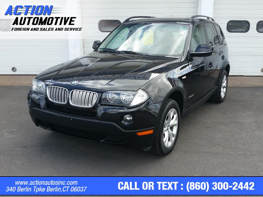 Used BMW X3 AWD 4dr 30i 2010 | Action Automotive. Berlin, Connecticut