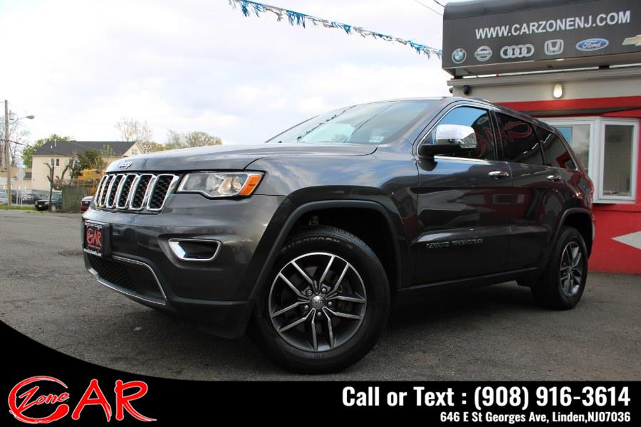 Used Jeep Grand Cherokee Limited 4x4 2018 | Car Zone. Linden, New Jersey