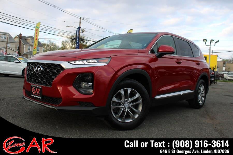 Used Hyundai Santa Fe SE 2.4L Auto AWD 2019 | Car Zone. Linden, New Jersey