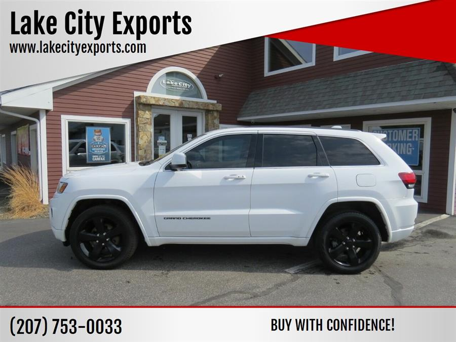 Used Jeep Grand Cherokee Altitude 4x4 4dr SUV 2015 | Lake City Exports Inc. Auburn, Maine
