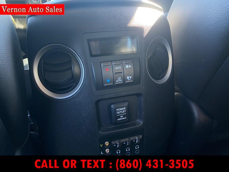 Used Honda Pilot 4WD 4dr Touring w/RES & Navi 2012   Vernon Auto Sale & Service. Manchester, Connecticut