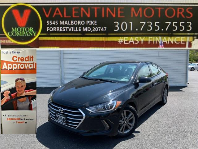 Used Hyundai Elantra Limited 2018 | Valentine Motor Company. Forestville, Maryland