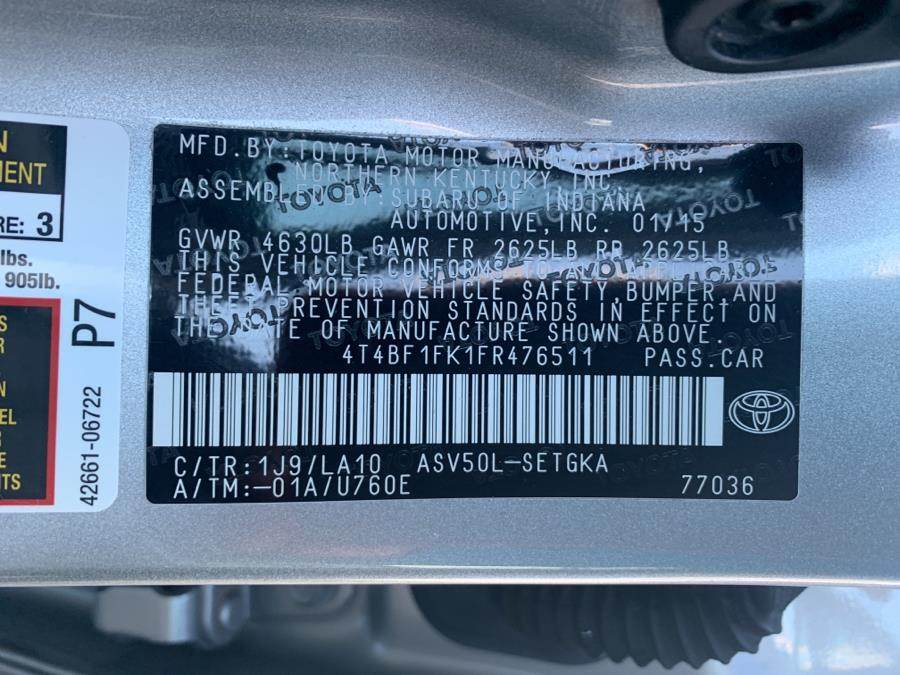 Used Toyota Camry 4dr Sdn I4 Auto XLE (Natl) 2015 | Sylhet Motors Inc.. Jamaica, New York