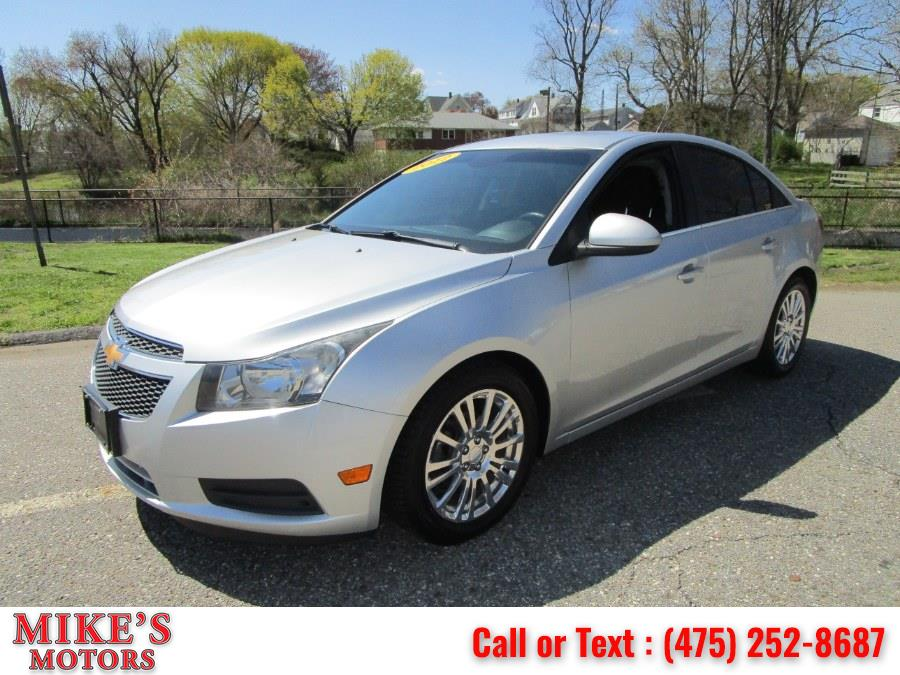 Used 2012 Chevrolet Cruze in Stratford, Connecticut   Mike's Motors LLC. Stratford, Connecticut