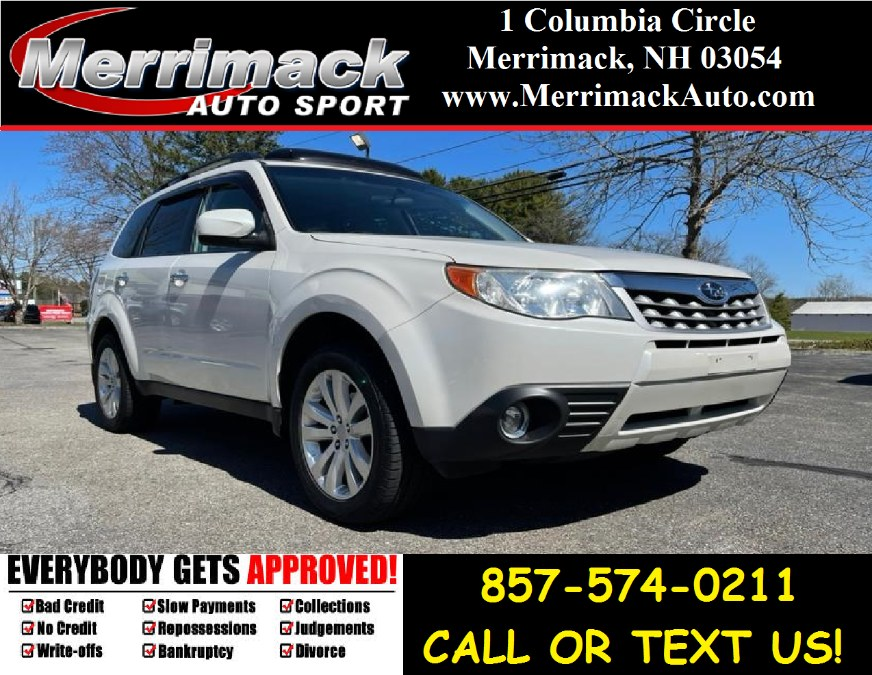 Used 2012 Subaru Forester in Merrimack, New Hampshire | Merrimack Autosport. Merrimack, New Hampshire