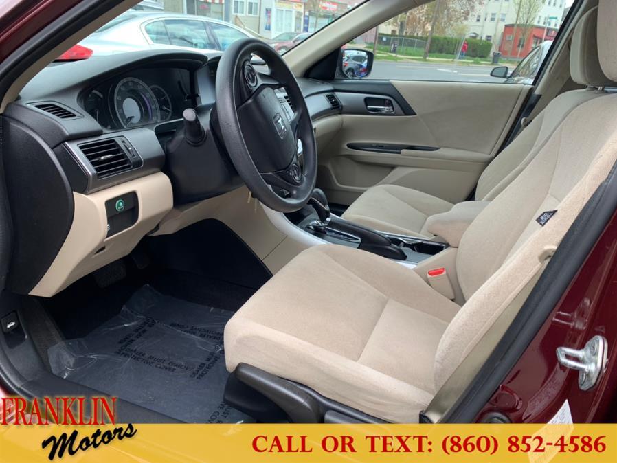 Used Honda Accord Sdn 4dr I4 CVT LX 2013 | Franklin Motors Auto Sales LLC. Hartford, Connecticut