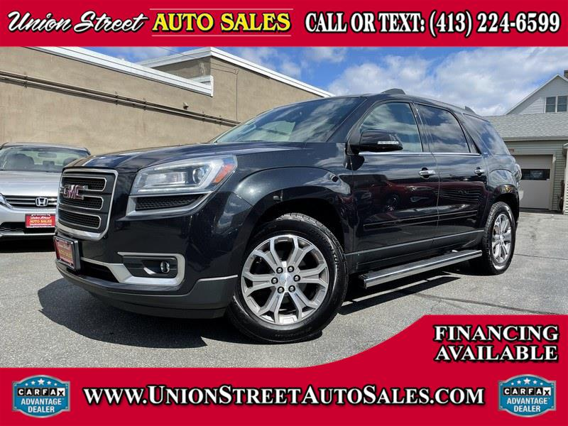 Used GMC Acadia AWD 4dr SLT w/SLT-2 2013 | Union Street Auto Sales. West Springfield, Massachusetts