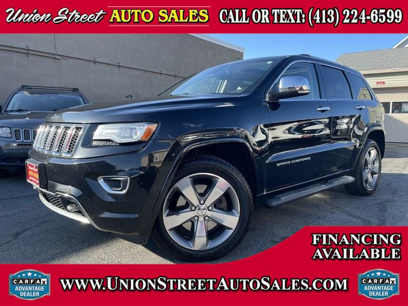 Used Jeep Grand Cherokee 4WD 4dr Overland 2014 | Union Street Auto Sales. West Springfield, Massachusetts