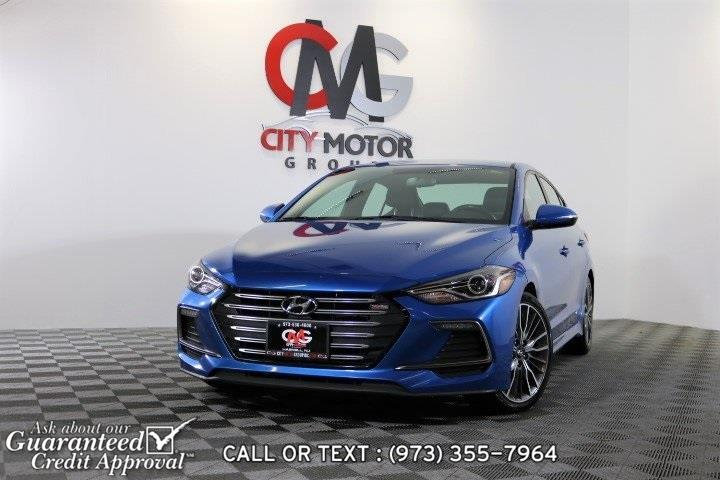 Used 2017 Hyundai Elantra in Haskell, New Jersey | City Motor Group Inc.. Haskell, New Jersey