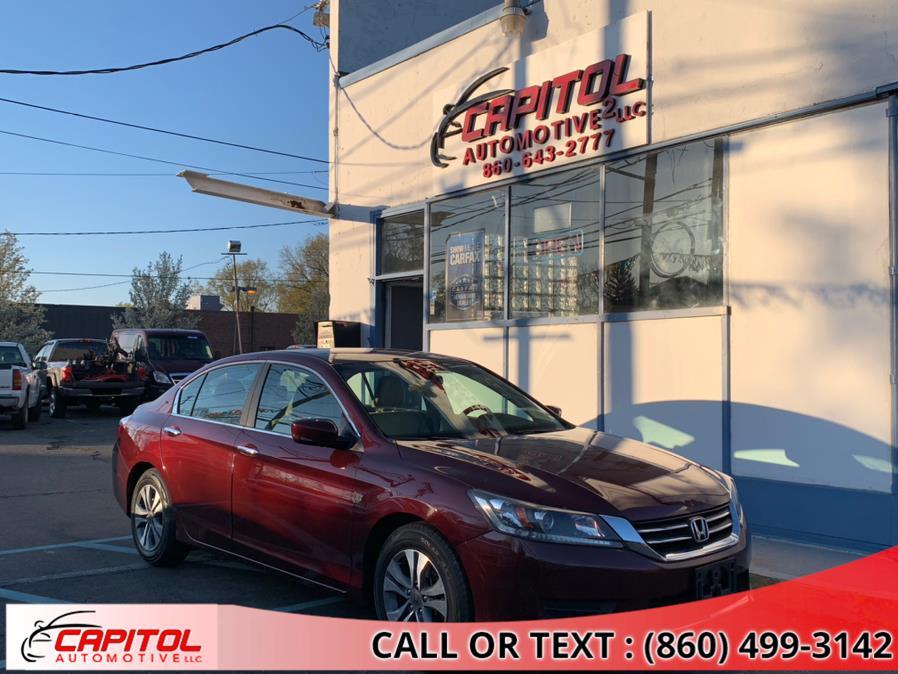 Used Honda Accord Sedan 4dr I4 CVT LX 2015 | Capitol Automotive 2 LLC. Manchester, Connecticut