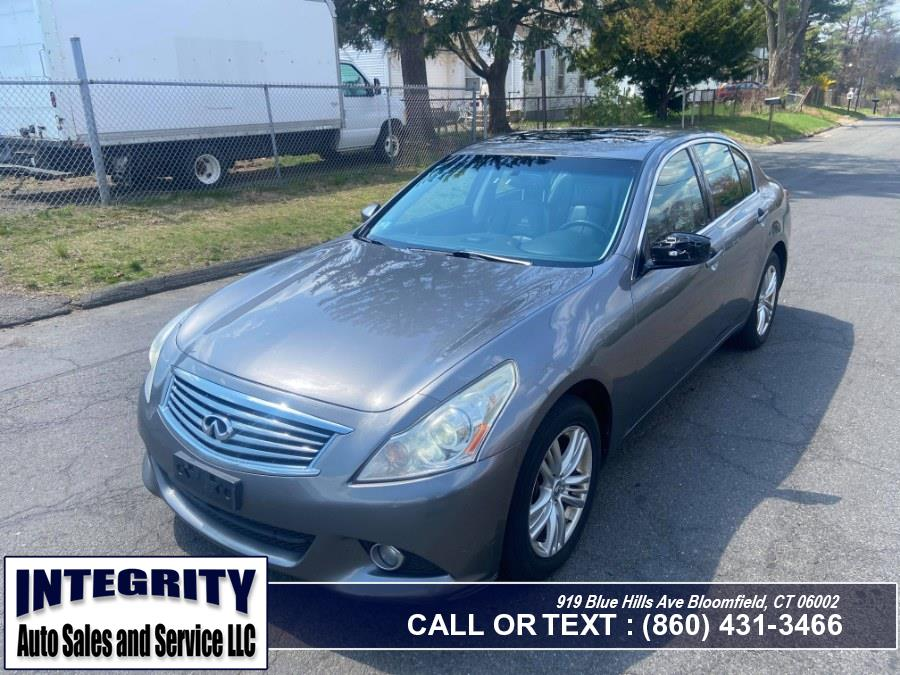 Used 2012 INFINITI G37 Sedan in Bloomfield, Connecticut | Integrity Auto Sales and Service LLC. Bloomfield, Connecticut