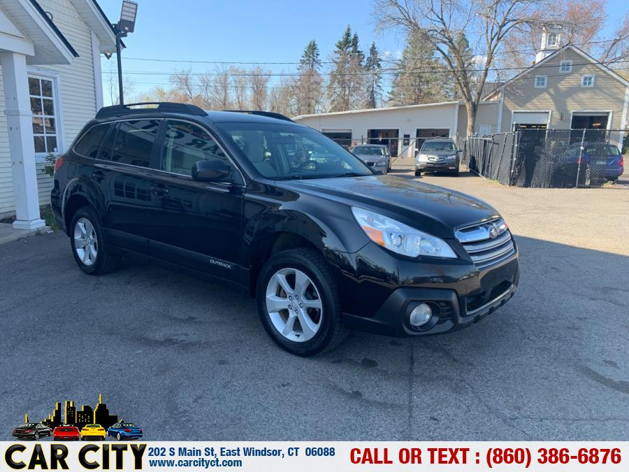 Used Subaru Outback 4dr Wgn H4 Auto 2.5i Premium 2014   Car City LLC. East Windsor, Connecticut