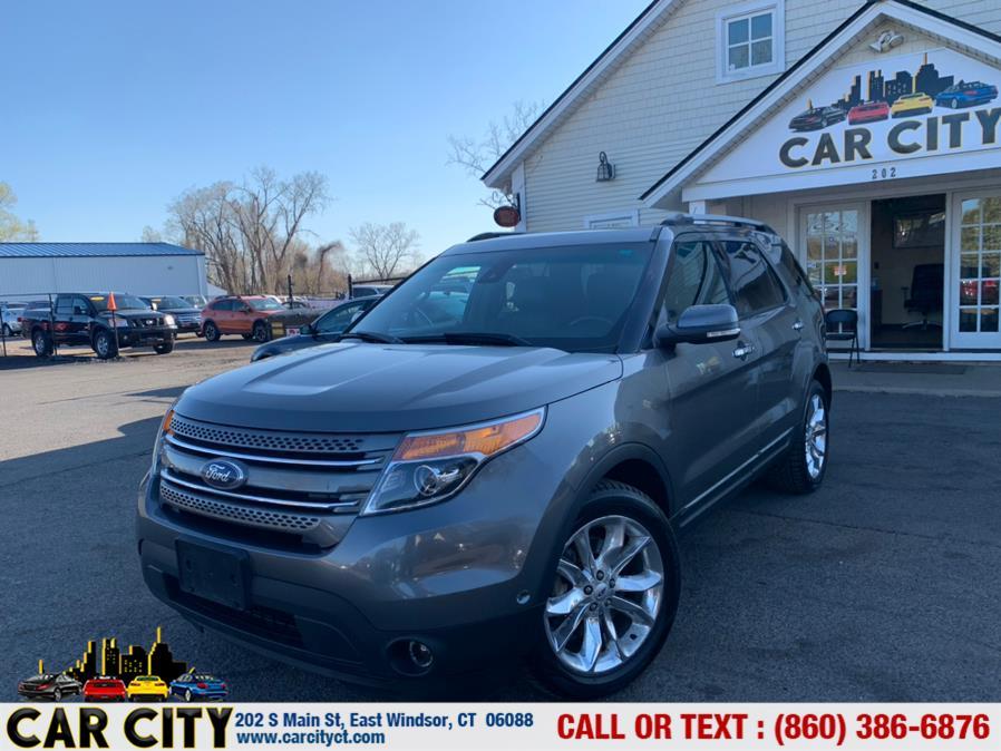 Used Ford Explorer 4WD 4dr Limited 2014 | Car City LLC. East Windsor, Connecticut