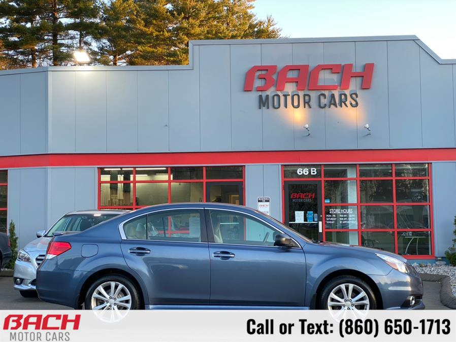 Used Subaru Legacy 4dr Sdn H4 Auto 2.5i Premium 2014 | Bach Motor Cars. Canton , Connecticut