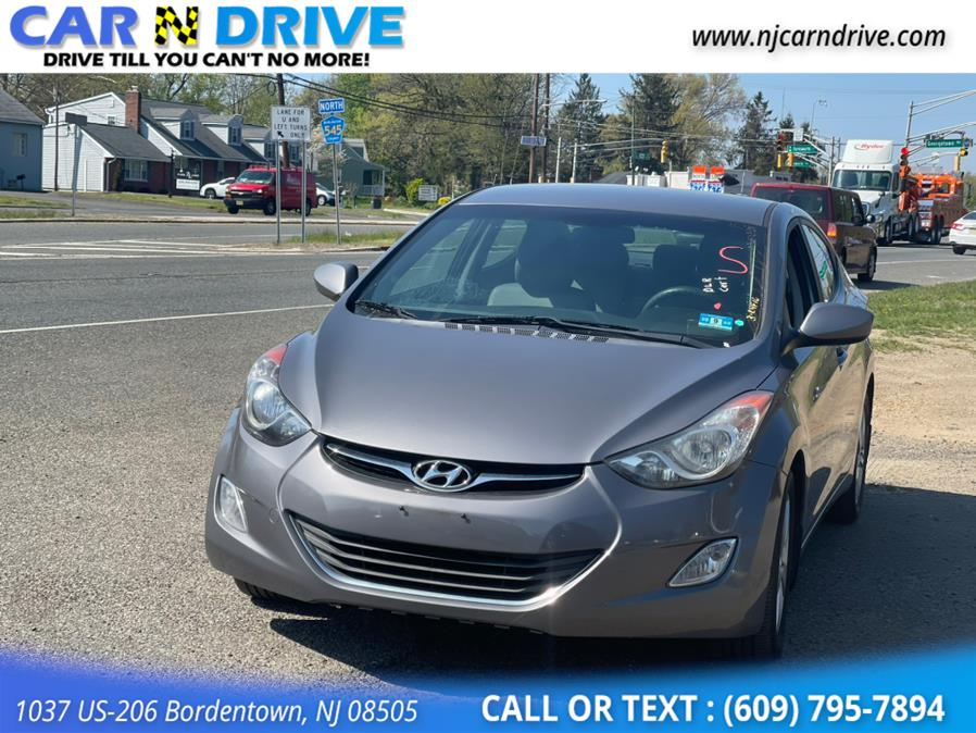 Used Hyundai Elantra GLS A/T 2013   Car N Drive. Bordentown, New Jersey