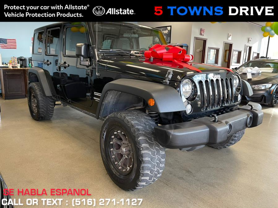 Used Jeep Wrangler Unlimited 4WD 4dr Sport 2016 | 5 Towns Drive. Inwood, New York