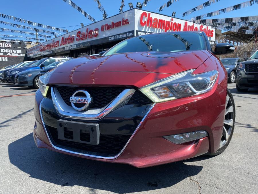 Used 2016 Nissan Maxima in Bronx, New York | Champion Auto Sales. Bronx, New York