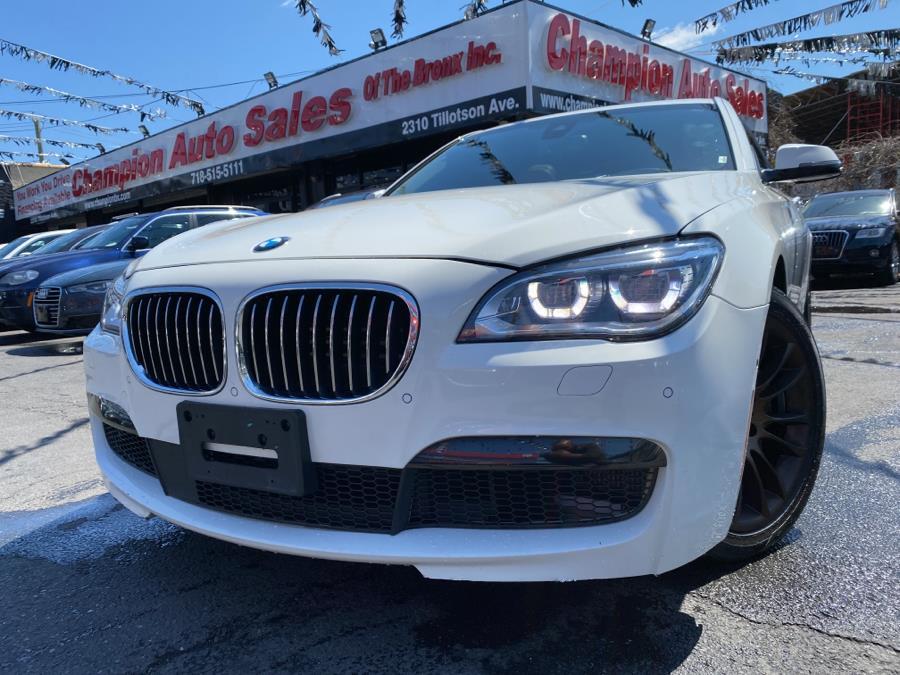 Used 2015 BMW 7 Series in Bronx, New York | Champion Auto Sales. Bronx, New York
