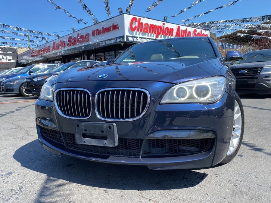 Used 2013 BMW 7 Series in Bronx, New York | Champion Auto Sales. Bronx, New York
