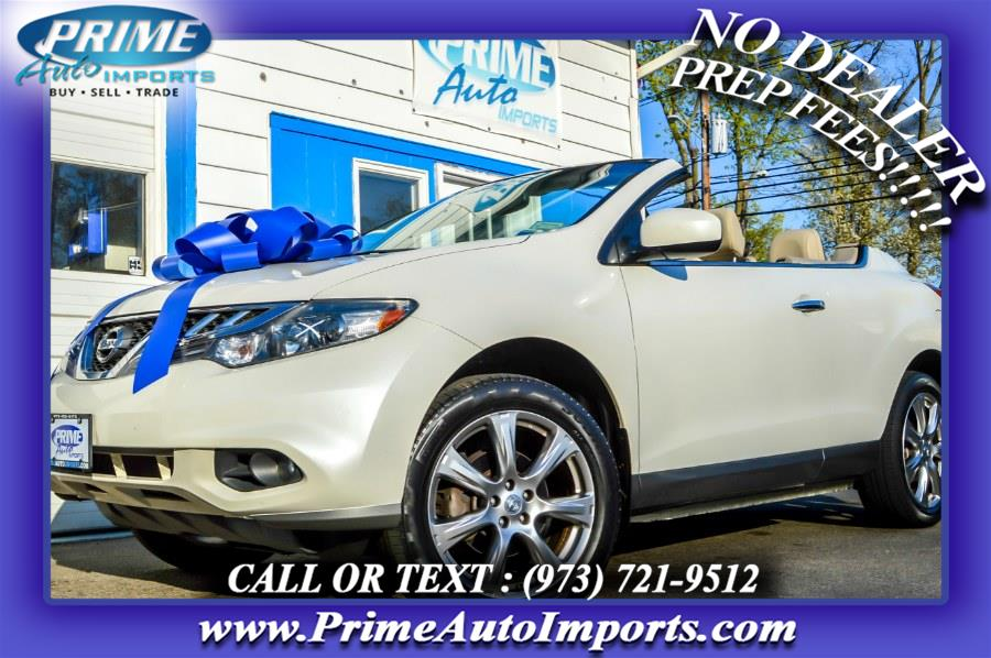 Used 2014 Nissan Murano CrossCabriolet in Bloomingdale, New Jersey | Prime Auto Imports. Bloomingdale, New Jersey