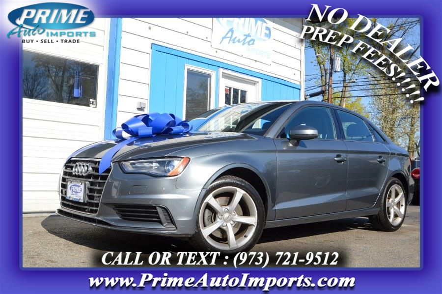 Used Audi A3 4dr Sdn quattro 2.0T Premium 2016 | Prime Auto Imports. Bloomingdale, New Jersey