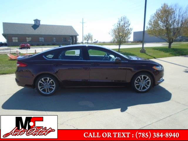 Used Ford Fusion SE FWD 2017 | M C Auto Outlet Inc. Colby, Kansas