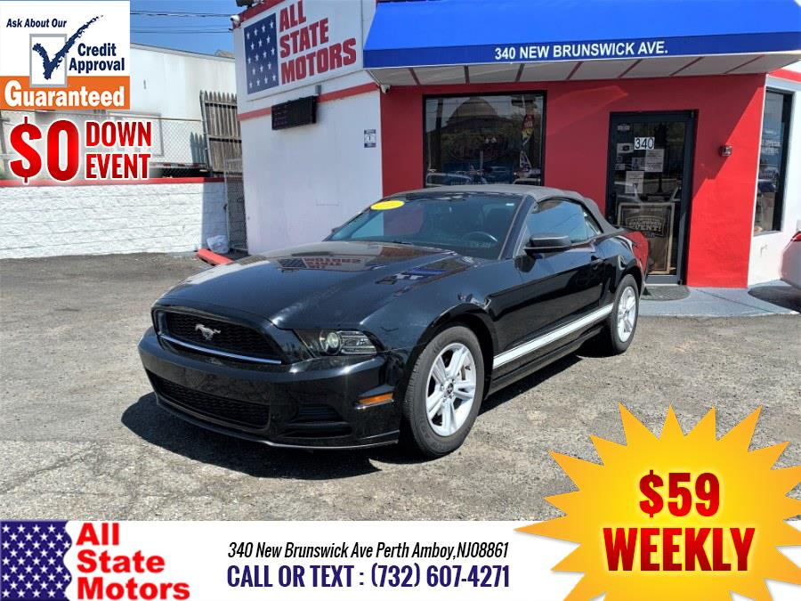 Used Ford Mustang 2dr Conv V6 2014   All State Motor Inc. Perth Amboy, New Jersey
