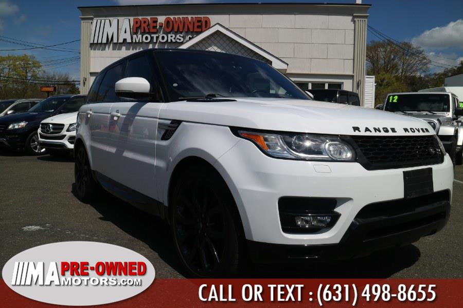 Used Land Rover Range Rover Sport 4WD 4dr V6 HSE 2016 | M & A Motors. Huntington, New York