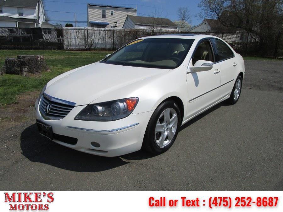 Used 2005 Acura RL in Stratford, Connecticut | Mike's Motors LLC. Stratford, Connecticut