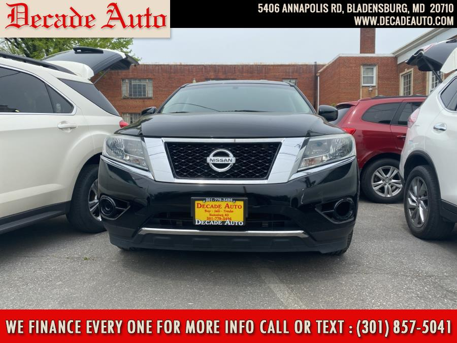 Used 2014 Nissan Pathfinder in Bladensburg, Maryland | Decade Auto. Bladensburg, Maryland