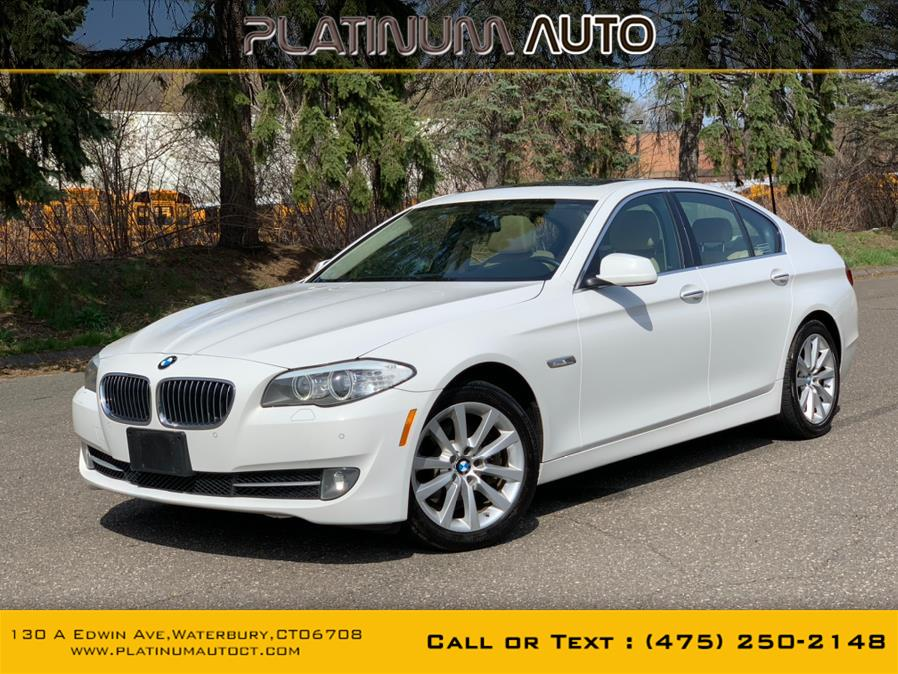 Used BMW 5 Series 4dr Sdn 528i xDrive AWD 2013 | Platinum Auto Care. Waterbury, Connecticut