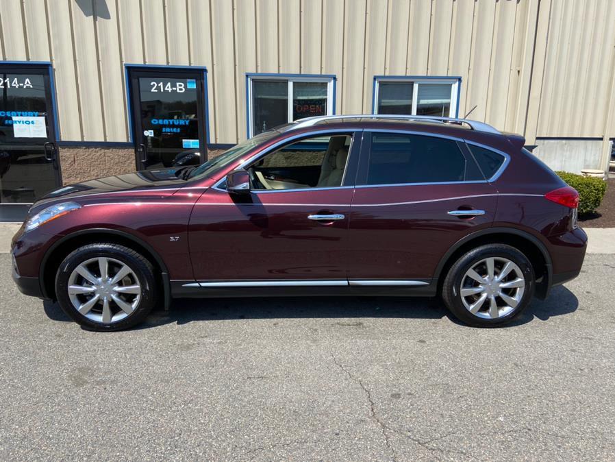 Used INFINITI QX50 AWD 2017   Century Auto And Truck. East Windsor, Connecticut