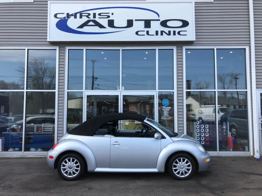 Used 2004 Volkswagen New Beetle Convertible in Plainville, Connecticut | Chris's Auto Clinic. Plainville, Connecticut