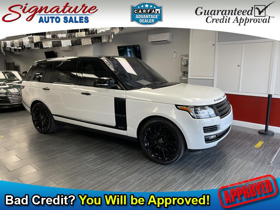 Used Land Rover Range Rover V8 Supercharged LWB 2017 | Signature Auto Sales. Franklin Square, New York
