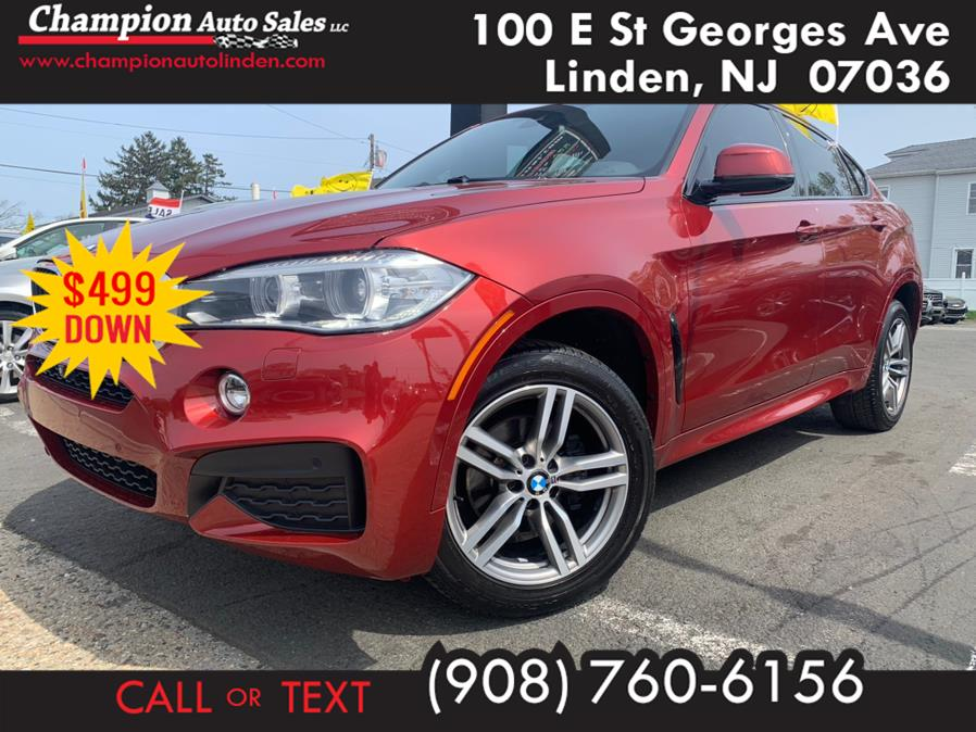 Used 2017 BMW X6 in Linden, New Jersey | Champion Used Auto Sales. Linden, New Jersey