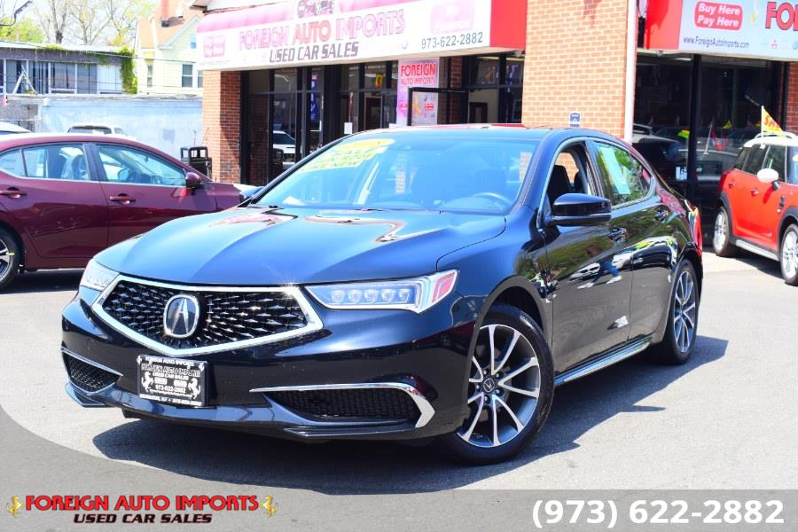 Used Acura TLX 3.5L FWD w/Technology Pkg 2018 | Foreign Auto Imports. Irvington, New Jersey