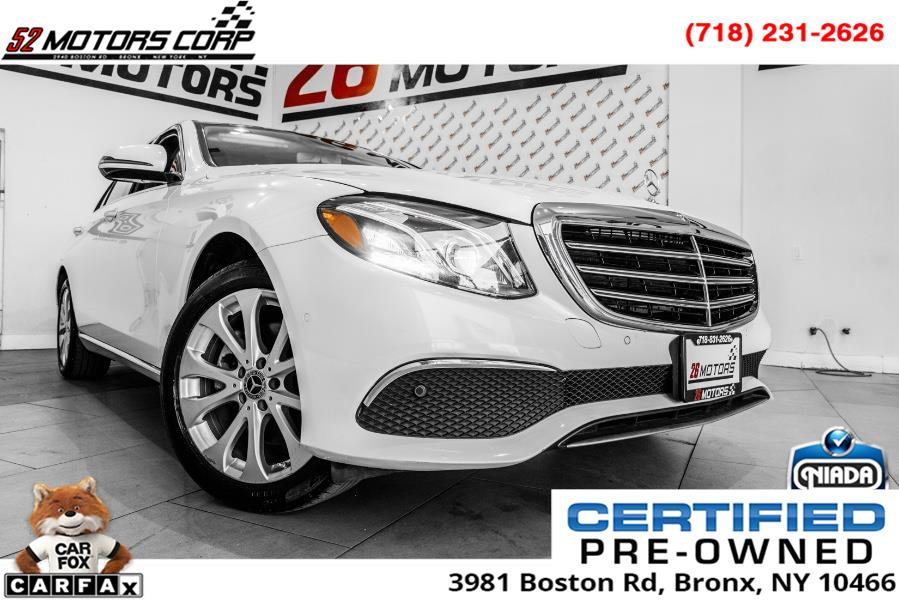 Used 2018 Mercedes-Benz E-Class in Woodside, New York | 52Motors Corp. Woodside, New York