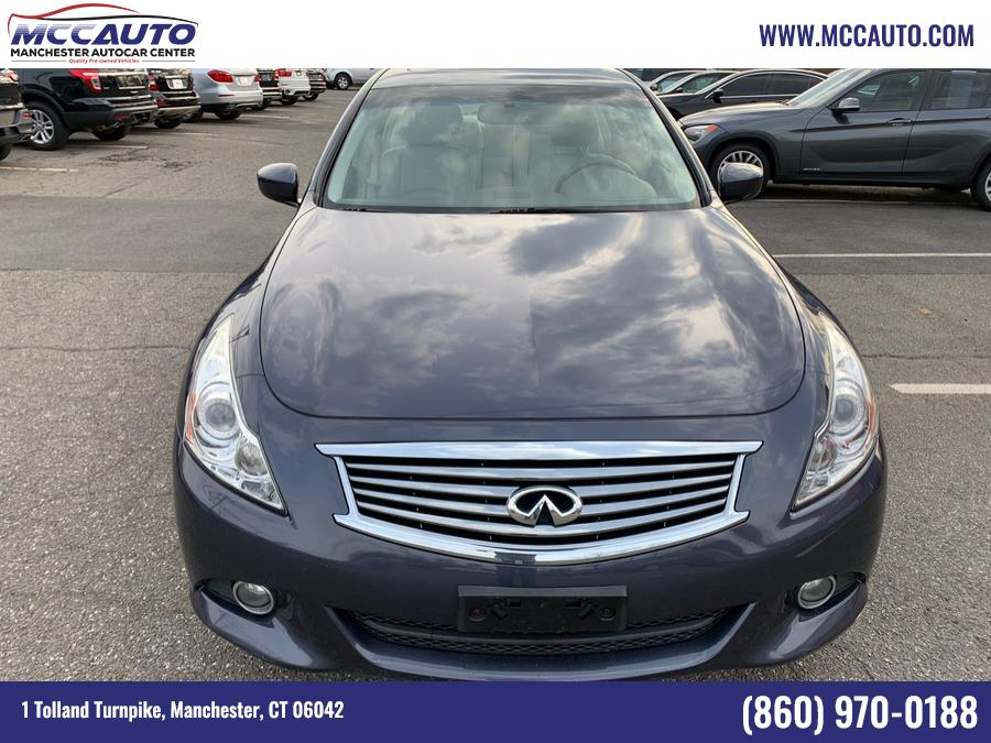 Used INFINITI G37 Sedan 4dr x AWD 2011 | Manchester Autocar Center. Manchester, Connecticut