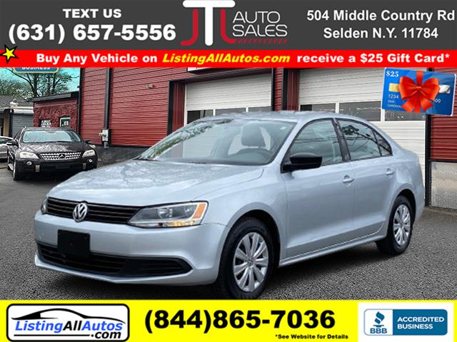 Used Volkswagen Jetta Sedan 4dr Man Base 2013 | www.ListingAllAutos.com. Patchogue, New York
