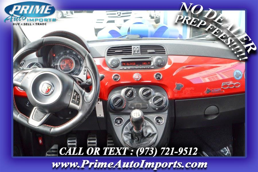 Used FIAT 500 2dr HB Abarth 2013   Prime Auto Imports. Bloomingdale, New Jersey