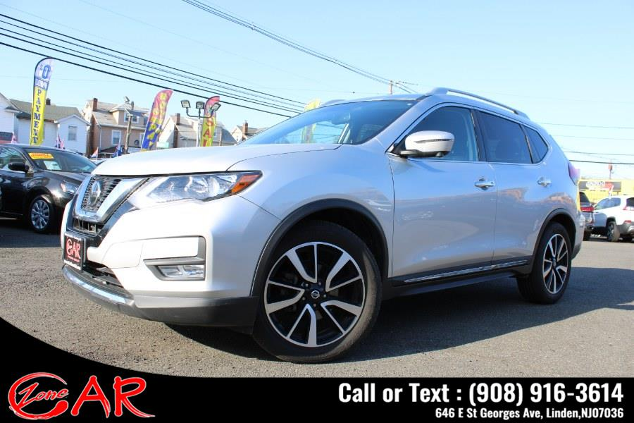 Used Nissan Rogue AWD SL 2019   Car Zone. Linden, New Jersey