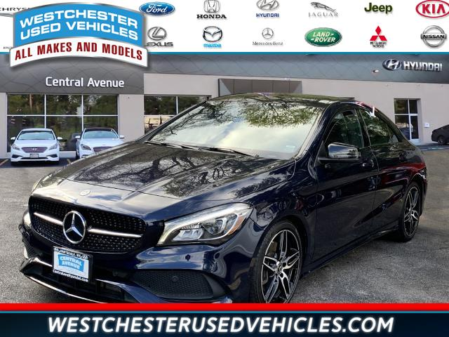 Used 2018 Mercedes-benz Cla in White Plains, New York | Westchester Used Vehicles. White Plains, New York