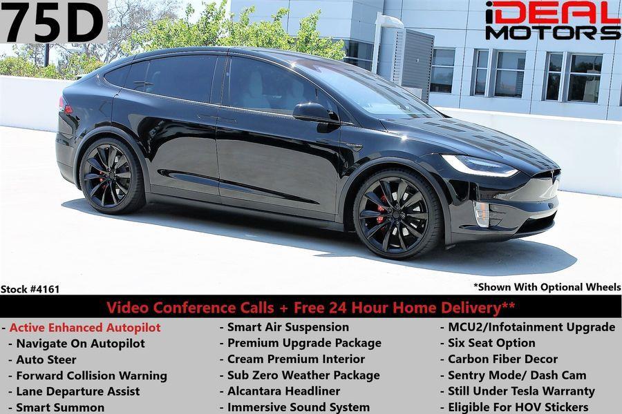 Used Tesla Model x 75D Sport Utility 4D 2018 | Ideal Motors. Costa Mesa, California